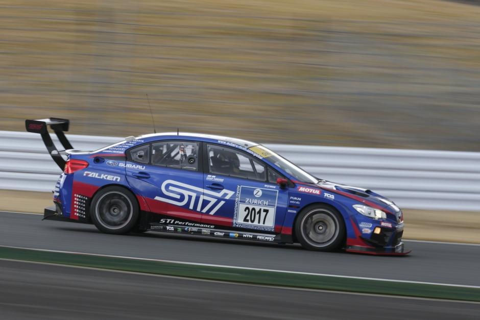 SUBARU WRX STI примет участие в гонке «24 часа Нюрбургринга» 2017 года